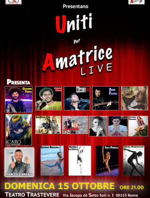 UNITI PER AMATRICE 15 OTTOBRE LIVE3