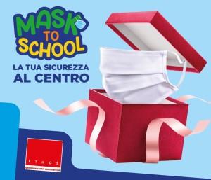 locandina mask to school